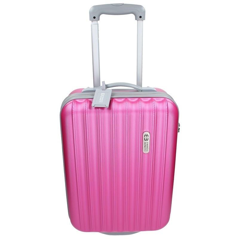 Cestovní kufr Enrico Benetti 39033/50 - růžová