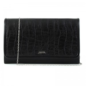 Dámska listová kabelka Doca 15354 - čierna