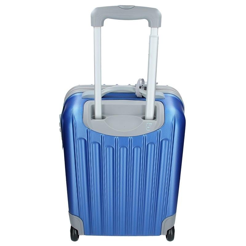 Cestovní kufr Enrico Benetti 39033/50 - stříbrná