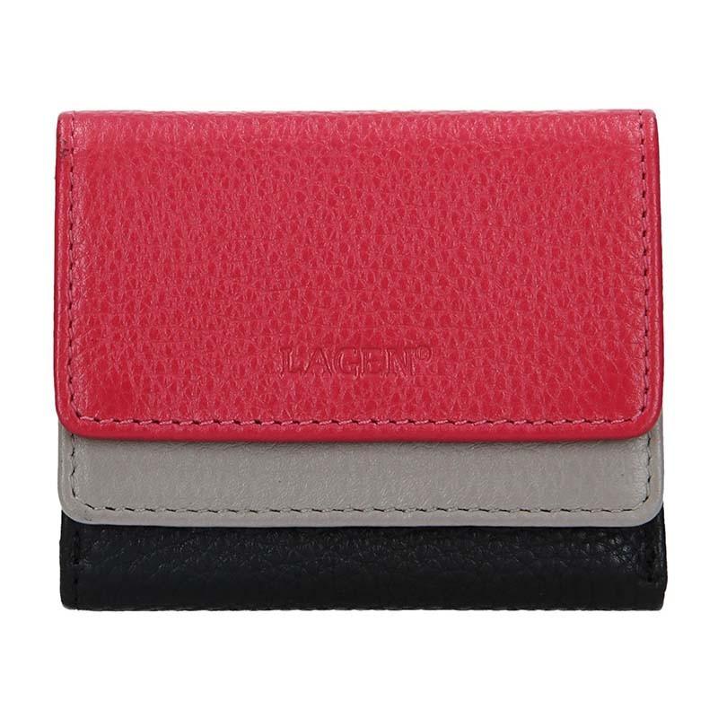 Dámska kožená peňaženka Lagen Sandra