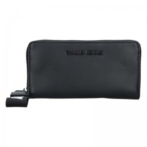 Dámska peňaženka Tommy Hilfiger Jeans Ramona - čierná