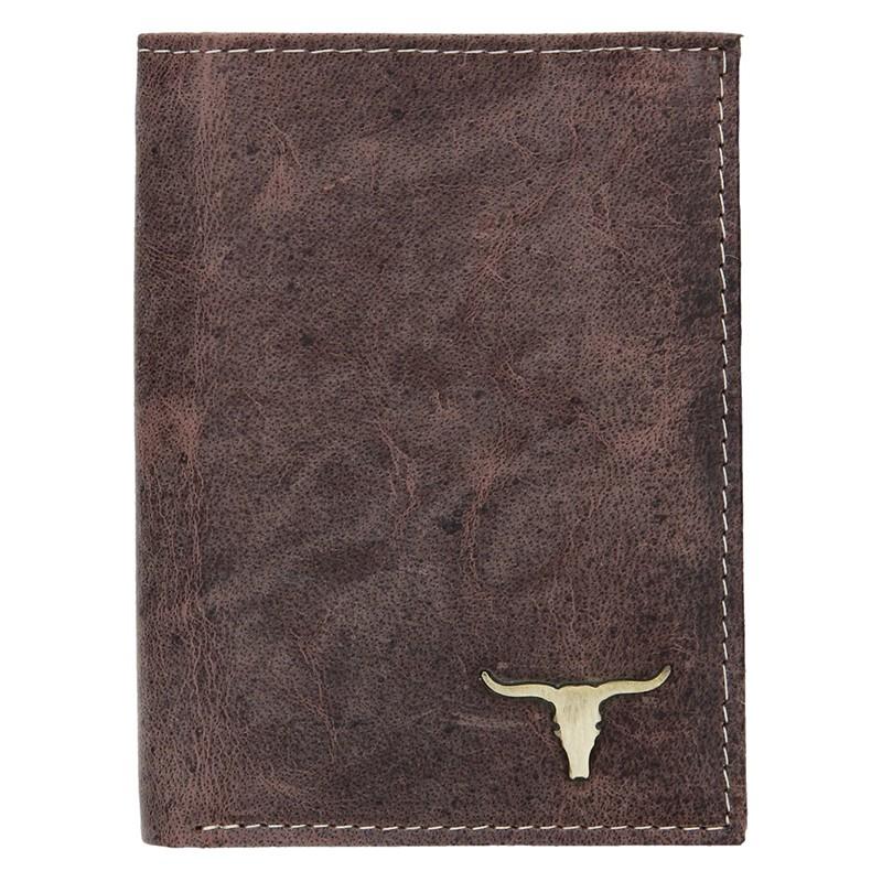 Pánska kožená peňaženka Wild Buffalo Tom - hnedá