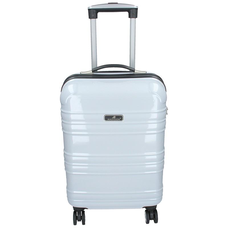 Kabínový cestovný kufor MADISSON Elma - biela 35l