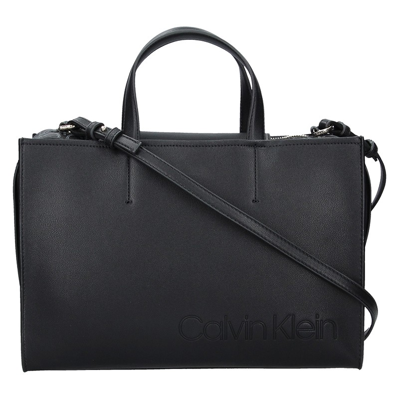 Dámská kabelka Calvin Klein Anetta - čierna