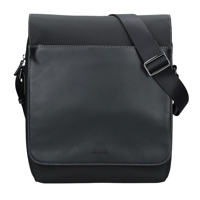 Pánská taška přes rameno Hexagona Vincent - čierna