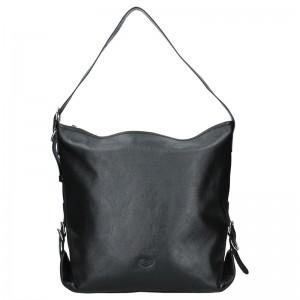 Dámska kabelka Anekta Greta - čierna