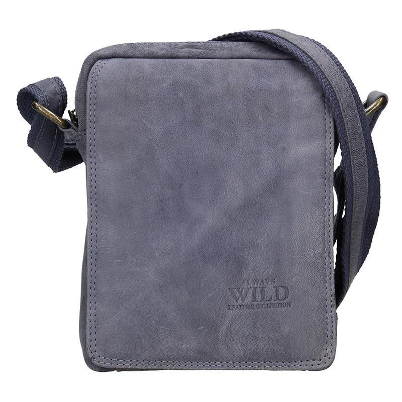 Pánska taška cez rameno Always Wild Ceasar - modrá