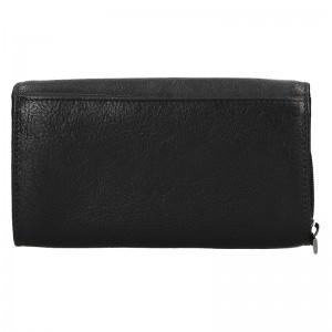 Dámska kožená peňaženka SendiDesign Alena - čierna