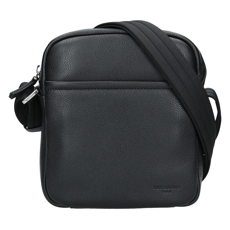 Pánska taška na doklady Hexagon Kolen - čierna