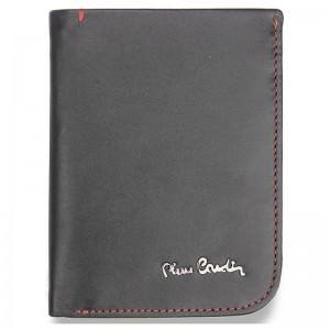 Pánska kožená peňaženka Pierre Cardin Viktor - čierno-červená