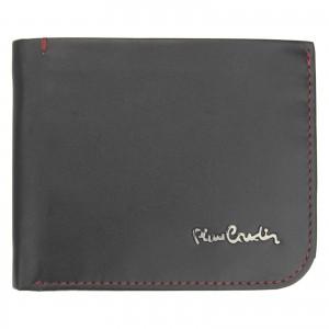 Pánska kožená peňaženka Pierre Cardin Rikke - čierno-červená