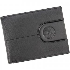 Pánska kožená peňaženka Pierre Cardin Gerd - čierna
