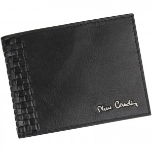Pánska kožená peňaženka Pierre Cardin Oddfrid - čierna