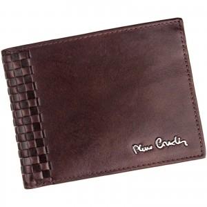 Pánska kožená peňaženka Pierre Cardin Oddfrid - hnedá