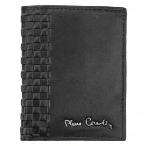 Pánska kožená peňaženka Pierre Cardin Ingvild - čierna