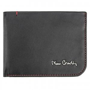 Pánska kožená peňaženka Pierre Cardin Hauk - čierná