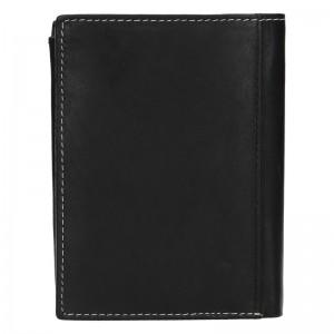 Pánska kožená peňaženka Diviley Marco - čierna