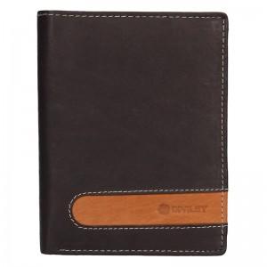 Pánska kožená peňaženka Diviley Marco - hnedá