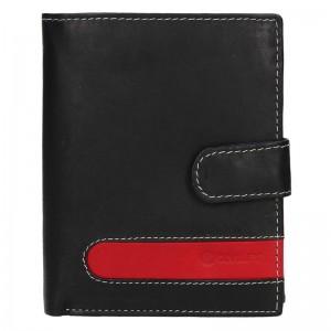 Pánska kožená peňaženka Diviley Davide - čierna
