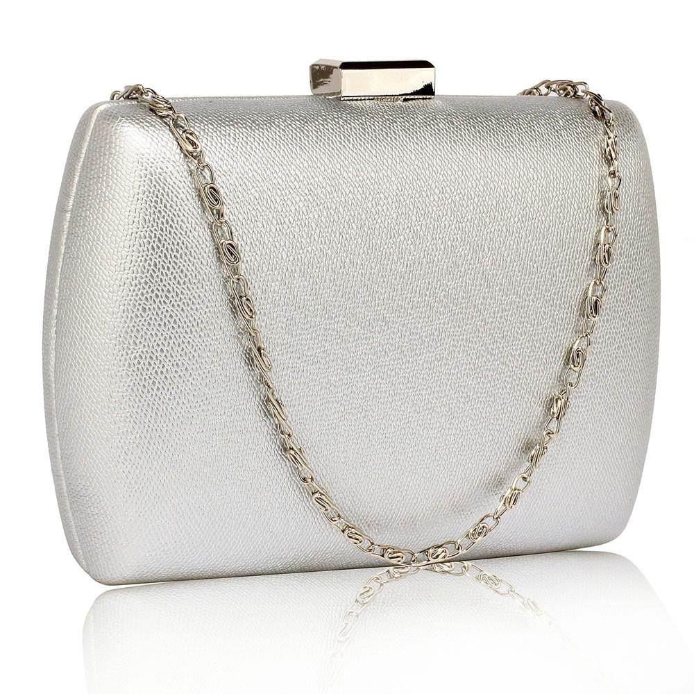 Dámska listová kabelka LS Fashion Jodie - strieborná