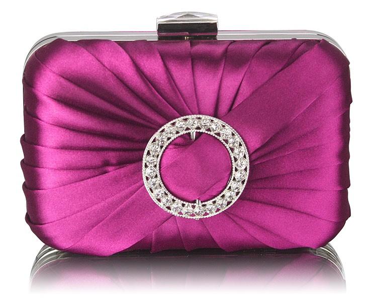 Dámska listová kabelka LS Fashion Lisa - fialová