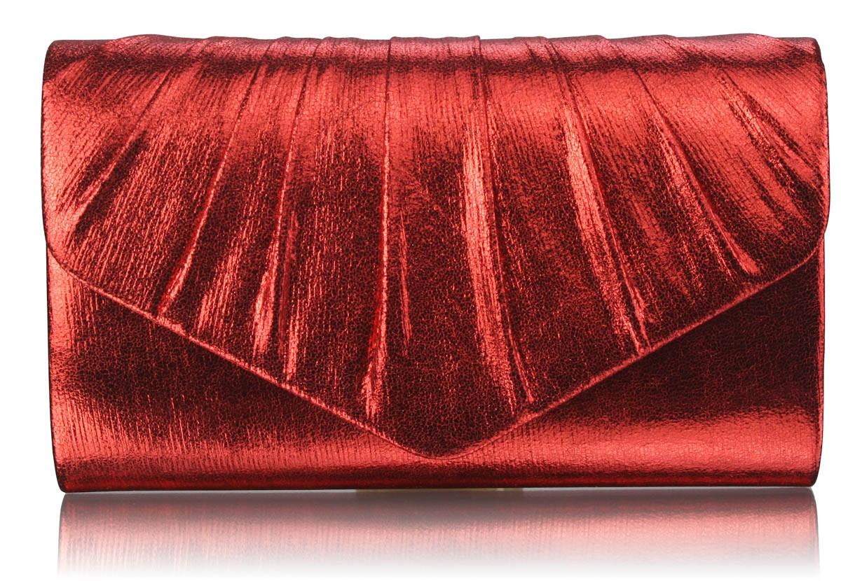 Dámska listová kabelka LS Fashion Lucy - červená
