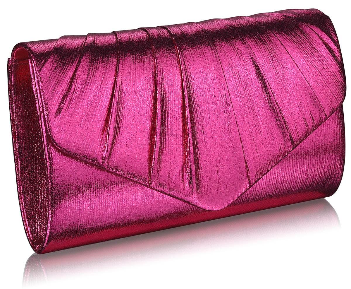 Dámska listová kabelka LS Fashion Lucy - ružová