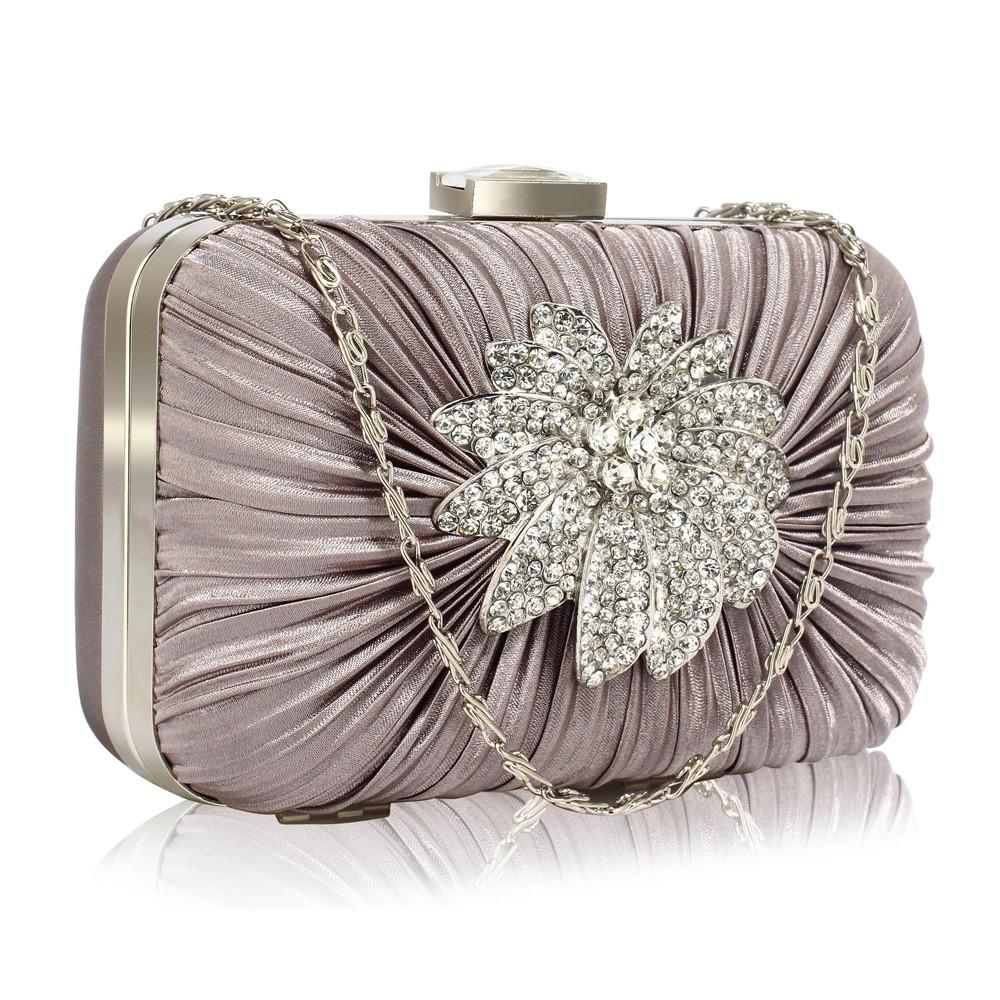 Dámska listová kabelka LS Fashion Olivia- šedá