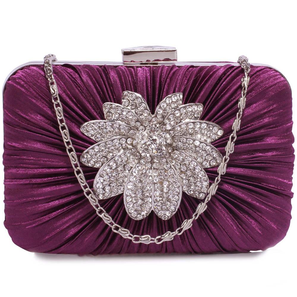 Dámska listová kabelka LS Fashion Olivia - fialová
