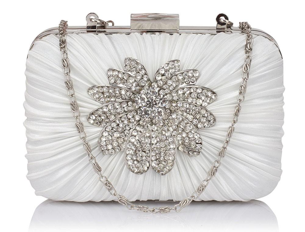 Dámska listová kabelka LS Fashion Olivia - ivory