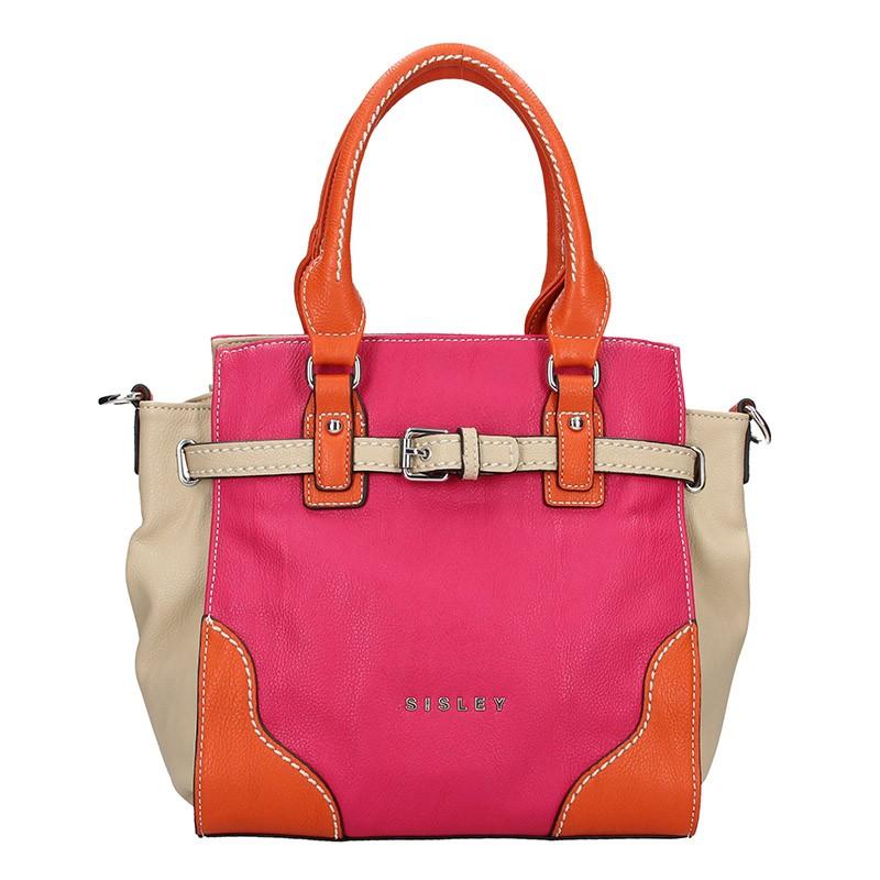 Dámska kabelka Sisley Cristina - ružová