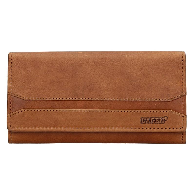 Dámska peňaženka Lagen Marion - hnedá