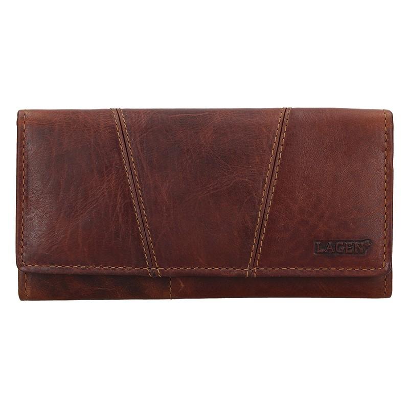 Dámska peňaženka Lagen Kalisto - hnedá