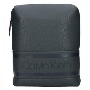Pánska taška cez rameno Calvin Klein Divel - šedá