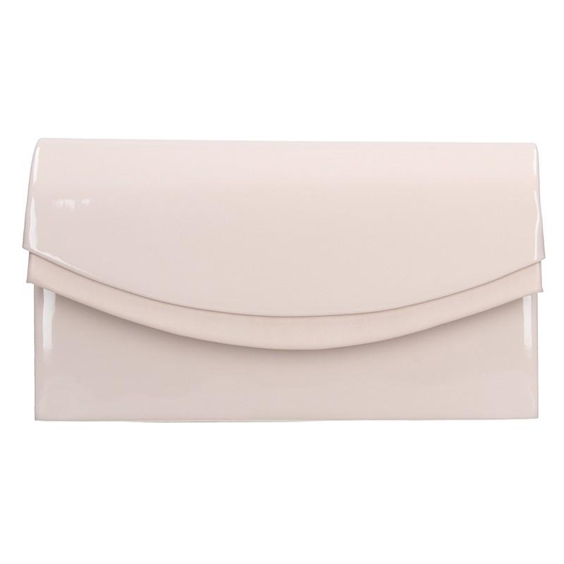 Elegantní listová kabelka Marlota - ružová