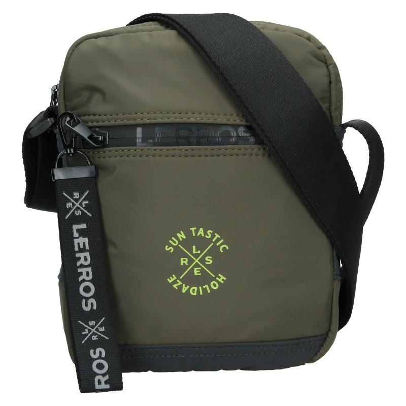 Pánska taška cez rameno Lerros Nerro - hnedá