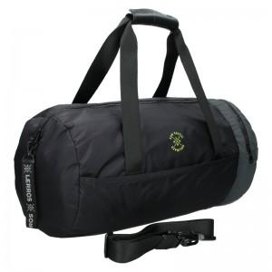 Pánska cestovná taška Lerros Baleo - čierna
