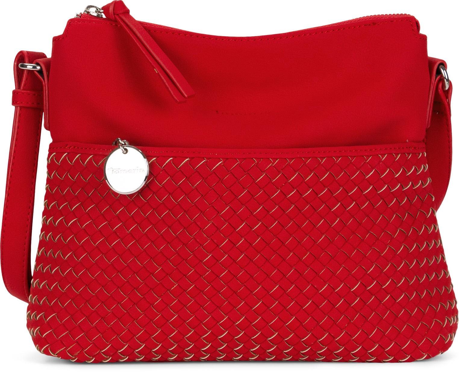 Dámska crossbody kabelka Tamaris Ambora - červená