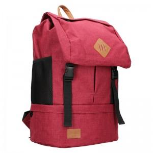 Veľký trendy batoh New Rebels Etien - ružová