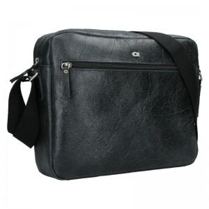 Pánska kožená taška Daag Malcolm - čierna