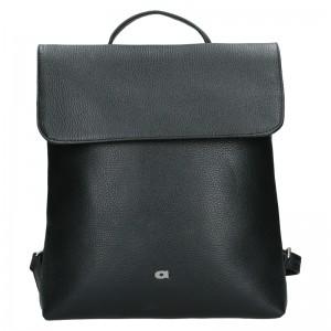 Dámsky kožený batoh Daag Mikaela - čierna