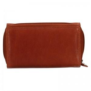 Dámska kožená peňaženka DD Anekta Debra - hnedá