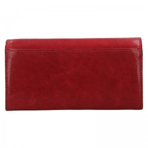 Dámska kožená peňaženka DD Anekta Verona - červená