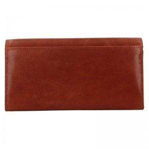Dámska kožená peňaženka DD Anekta Verona - hnedá