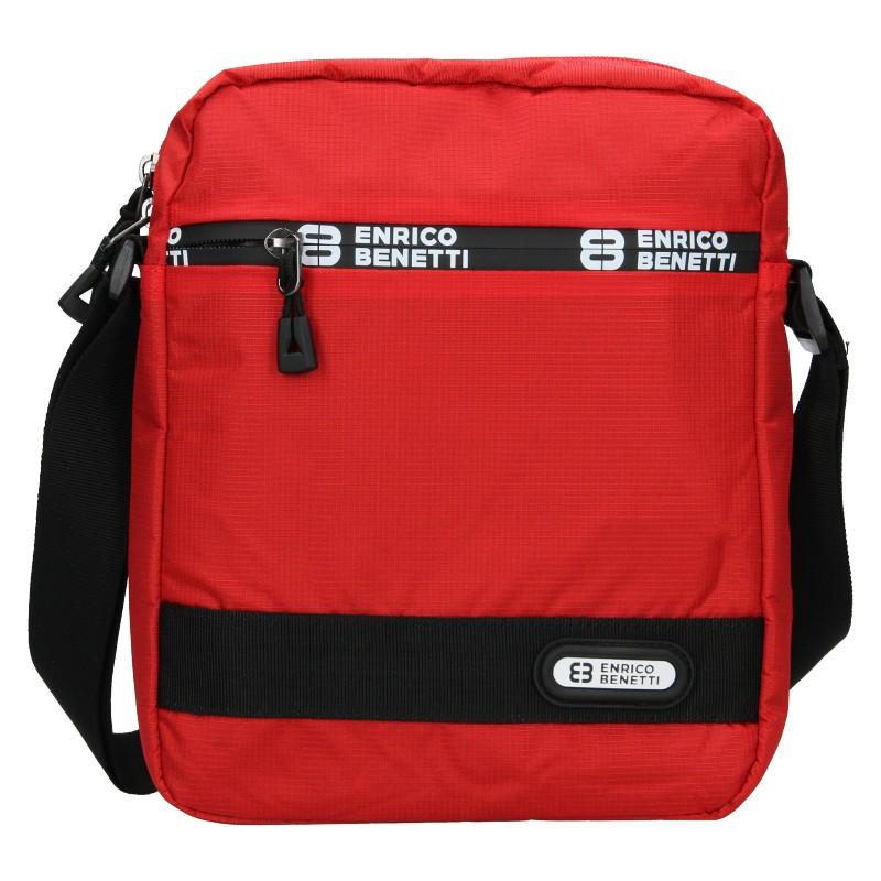 Pánska taška na doklady Enrico Benetti Gelt - červená