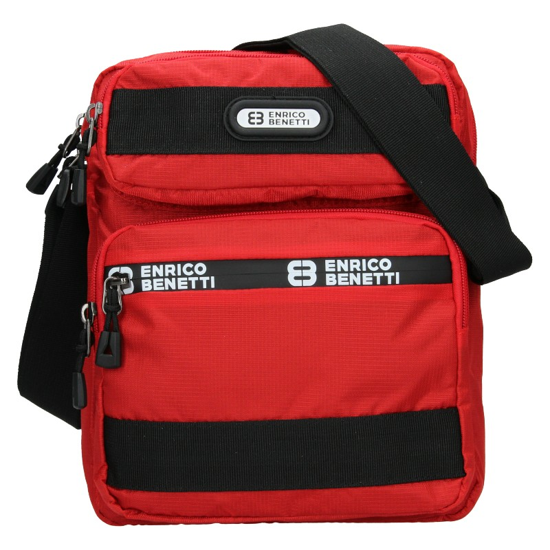 Pánska taška na doklady Enrico Benetti Dyren - červená