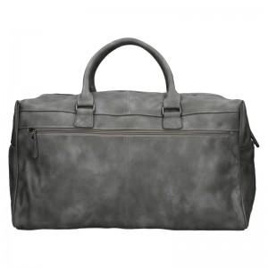 Trendy cestovná taška Enrico Benetti Travel - šedá