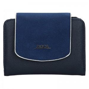 Dámska peňaženka Doca 64950 - modrá