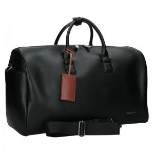 Pánská cestovní taška Calvin Klein Leones - čierna