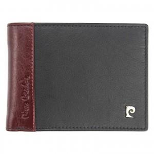 Pánska kožená peňaženka Pierre Cardin Viléms - červeno-čierná